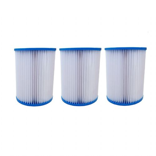 Filter Cartridges X3 For Bestway Lay-Z Swimming Pools, Spas, Hot Tubs, Jacuzzi